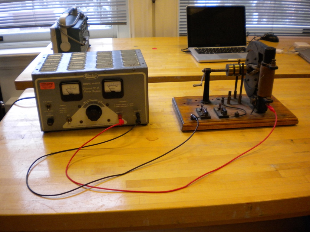 Motor Generator Demonstration Physics
